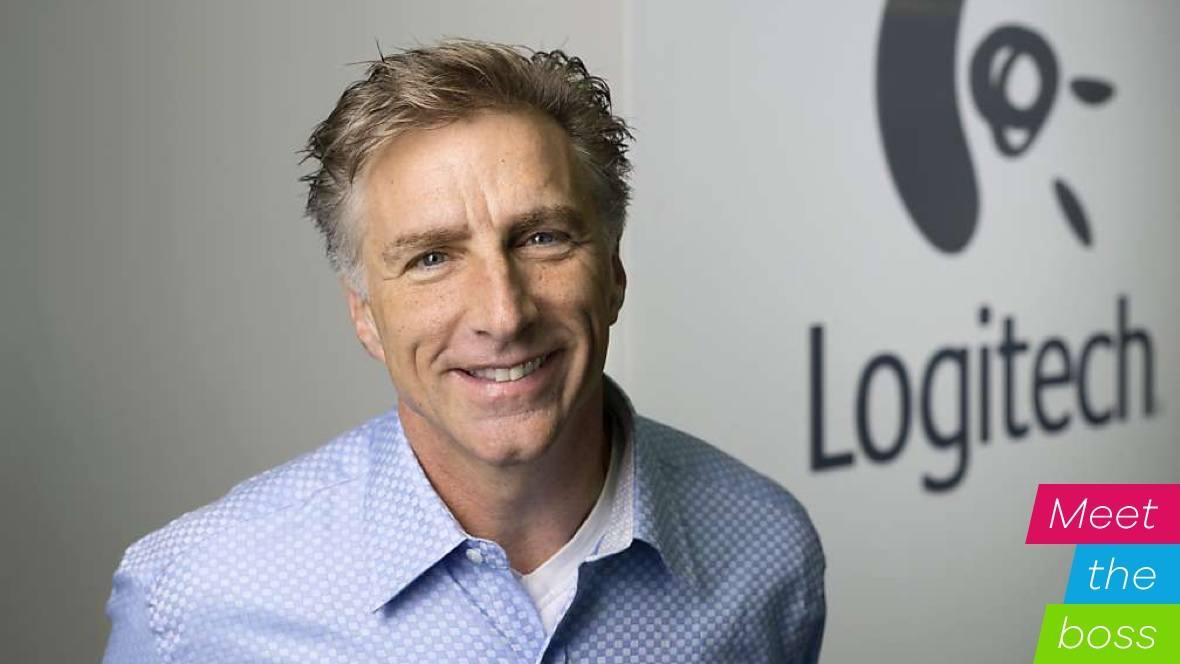 Ông Bracken Darrell - Người sáng lập thương hiệu Logitech
