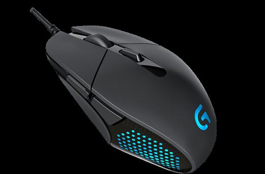 Chuột có dây gaming Logitech G302 Daedalus Prime Moba Gaming Mouse – Đen (Black)