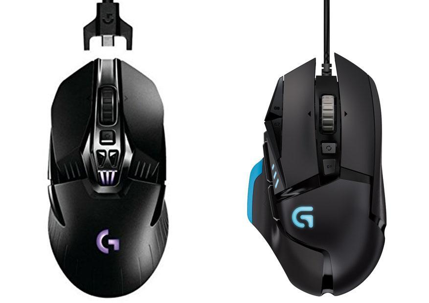Chuột Logitech Gaming Tốt Nhất chuột logitech có dây hay không dây